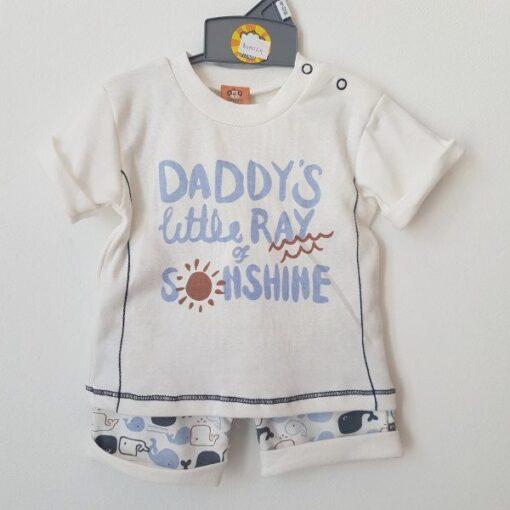 hlačice i majica za dečka