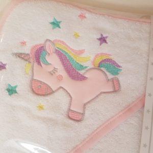 ručnik za bebu - jednorog