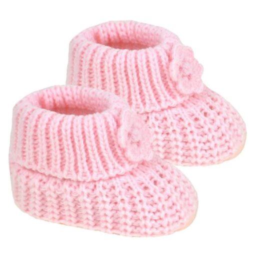Roze čarapice za bebu