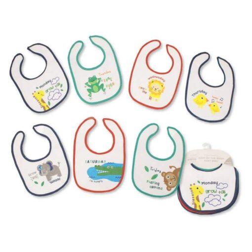 Slinček-partikla-podbradnjak za bebu