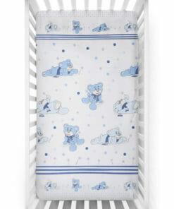 plahta sa motivom za dječji krevetić